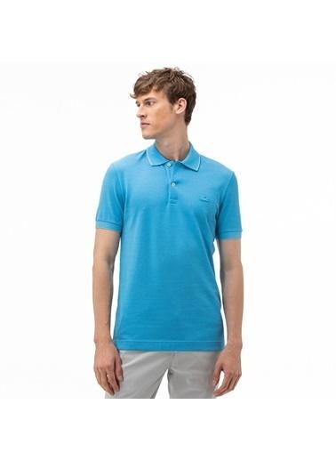 Lacoste Erkek Regular Fit Tişört PH5005.TS9 Mavi